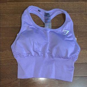 Gymshark Energy Seamless Vest Purple